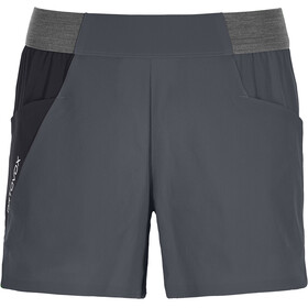 Ortovox Piz Selva Light Shorts Women black steel